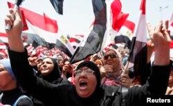 Пратэсты супраць прэзыдэнта Мурсі, Каір, плошча Тахрыр, 30 чэрвеня 2013