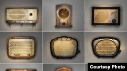 """Фрагмент выставки """"Для радио"""" в московской галерее Ravenscourt galleries"""