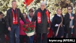 Митинг коммунистов в честь Ленина, Севастополь