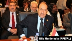 In the hot seat: Iraqi Prime Minister Nuri al-Maliki (file photo)