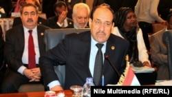 In the hot seat: Iraqi Prime Minister Nuri al-Maliki (file photo)
