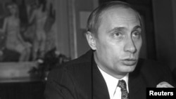 "Vladimir Putin shortly after he was appointed first deputy mayor of St. Petersburg in 1995, at a time when he was just ""a nobody"" according to entrepreneur Maksim Freidzon."