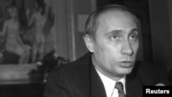 The new documentary Who Is Mr. Putin looks at the Russian president's ascent to power, starting with his early days working in the St. Petersburg mayor's office. (file photo).