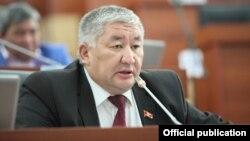 Депутат Жогорку Кенеша Максат Сабиров.