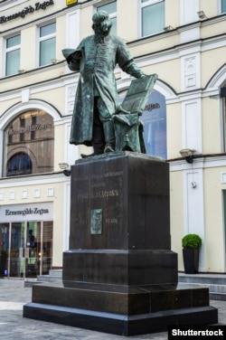 Пам'ятник Івану Федорову (Федоровичу) – найвідоміший монумент Сергій Волнухіна