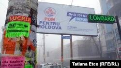 Lupta panourilor electorale din Chişinău