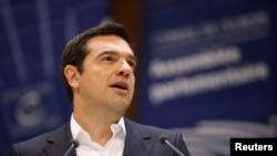 Архивска фотографија-премиерот на Грција Алексис Ципрас