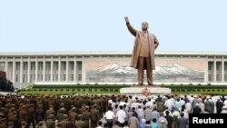 Cultul personalității lui Kim Il-Sung