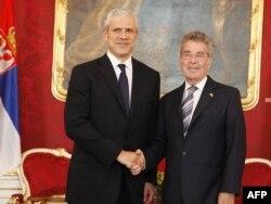 Predsednici Boris Tadić i Hajnc Fišer