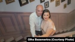 Ольга Безсмертна та її чоловік Володимир