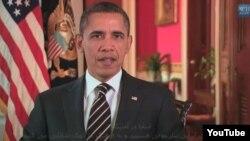 U.S. President Barack Obama greets Iranians on Norouz on March 20.