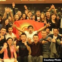 Кыргызстанские студенты, обучающиеся в Китае (архивное фото).