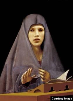 """Выставка """"Священные фигуры"""" Ольги Тобрелутс в Tate, 1998"""