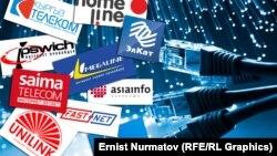 Кыргызстандагы көбүрөөк таанымал жана негизги интернет-провайдерлер.