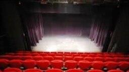 Գավառի թատրոնի հիմնանորոգված դահլիճը: