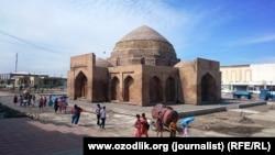 Историческая часть Шахрисабза.