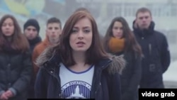 Ukrainian students have released an emotional video calling on their Russian counterparts not to believe what Russia's state-controlled media are saying about their country.