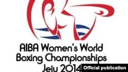 Оңтүстік Кореяда өтіп жатқан бокстан әйелдер арасындағы 2014 жылғы әлем чемпионатының белгісі. (Көрнекі сурет)