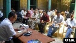 جلسة في اتحاد الادباء عن مظفر النواب