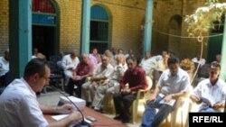 جلسة اتحاد الادباء عن مظفر النواب