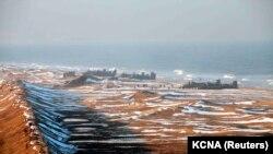 Vježbe sjevernokorejskih vojnika, 25. ožujak 2013.