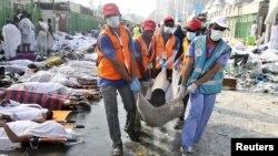 Минадагы каргаша жалпысынан 769 адамдын өмүрүн алды.