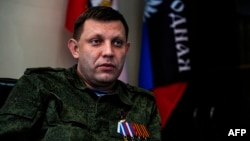 """By burning down houses, we saved our lives and the lives of our people,"" says Aleksandr Zakharchenko. (file photo)"