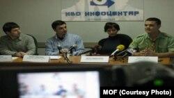 Прес-конференција на иницијаторите за формирање Национален младински совет. Фото: МОФ.