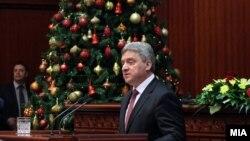Годишно обраќање на претседателот на Република Македонија Ѓорге Иванов во Собранието на Република Македонија.