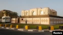 Политичката канцеларијата на авганистанските талибанци во Доха.
