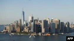 Вид на Манхэттен, престижный район Нью-Йорка. 13 сентября 2016 года.
