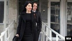 Обвинителката од СЈО Фатиме Фетаи пред Суд во Скопје