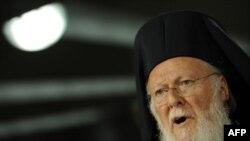 Вселенский Патриарх Греческой Православной Церкви Варфоломей (архив)