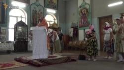 Молебен за Украину в Симферополе (видео)