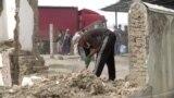 Кыргыз-өзбек чегиндеги үйлөр бузулду