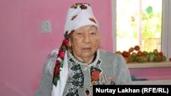 Қайрат станциясы ауылының ең қарт тұрғыны - 84 жастағы Мәрия Жүнісова. 20 қыркүйек 2020 жыл.