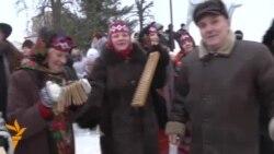 Christmas Caroling In Belarus