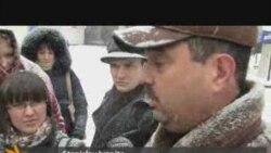 antiVoronin protest in Chisinau