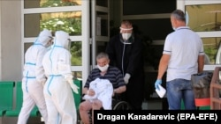Serbia has recently had a spike in coronavirus cases.