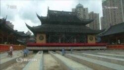 Будда храмын бұзбай көшірді
