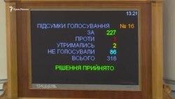Верховная Рада приняла законопроект о финансовой поддержке телерадиокомпаний из Крыма (видео)