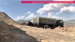 Ermənistan Azərbaycan ordusunun Naxçıvanda irıliləmədiyini iddia edir