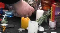 Ukrainians Honor Victims Of Clashes In Kyiv