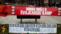 """Beograd: """"Švajcarci"""" u šatorima"""