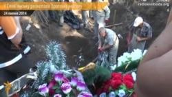У Слов'янську розкопали братську могилу закатованих бойовиками
