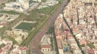 'Marš za slobodu' stigao u Barselonu