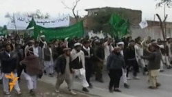 Afghans In Jalalabad Protest Killings By U.S. Soldier
