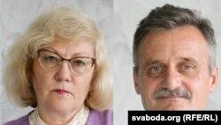 Іна Студзінская і Алег Грузьдзіловіч