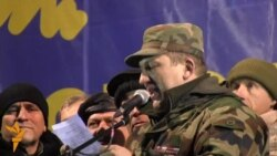 Ветерани війни в Афганістані та учасники бойових дій в інших країнах стали на захист Євромайдану