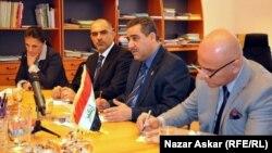 محافظ بغداد وأعضاء مجموعة تنمية العراق في إجتماع بستوكهولم